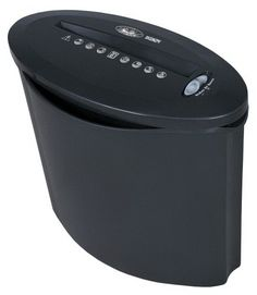You never know who could be rummaging through your trash. If you want to protect your identity, then destroy all of your obsolete personal documents with this ShredderShark SH3206ZPV Paper Shredder. It features a small, compact size, making it perfect for home or small office use.