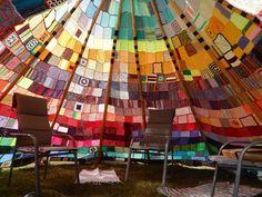 Yarn Bombing Street Art Collection