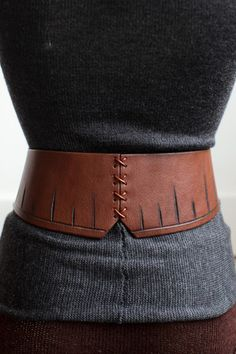 Another goodie from Johnny Farah!  The pyramid belt!  You can wear the corset piece to the front or back!!!!