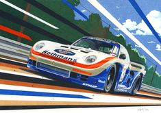 porsche drawing art - Google Search