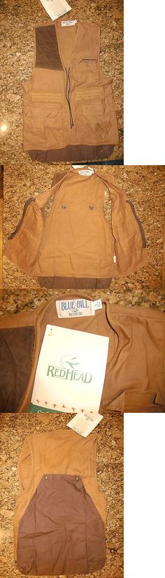 Vests 178080: Nwt Redhead Blue Bill Hunting Vest Size Small -> BUY IT NOW ONLY: $35.99 on eBay!