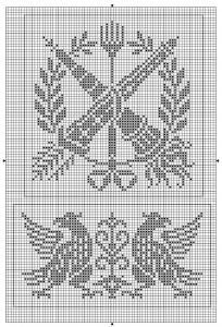 Other 03   Free chart for cross-stitch, filet crochet   Chart for pattern - Gráfico