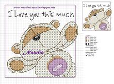 Cross Stitch For Kids, Cute Cross Stitch, Cross Stitch Cards, Cross Stitch Animals, Cross Stitch Designs, Cross Stitching, Cross Stitch Embroidery, Embroidery Patterns, Cross Stitch Patterns