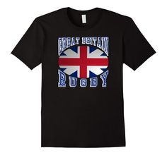 #GreatBritain Rugby Fans National Flag #Rugby Ball Bold Collegiate Text #TShirt Support your #Rio2016 teams #rugby7s #olympics  http://amzn.to/29OZJue