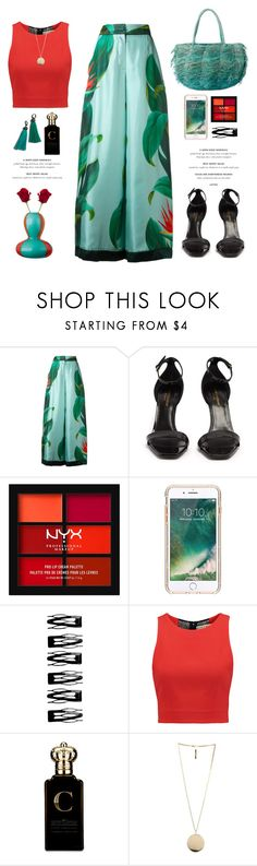 """OOTD"" by yexyka ❤ liked on Polyvore featuring F.R.S For Restless Sleepers, Sensi Studio, Yves Saint Laurent, NYX, Griffin, Revlon, Alice + Olivia, Clive Christian and Givenchy"