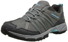 Montrail Womens Mountain Masochist III Trail Running Shoe Light GreyClearBlue 5 M US ** Click on the image for additional details.