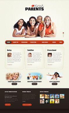 Template 36649 - Kids & Website Template