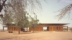 """Diébédo Francis Kéré: Architecture is a wake-up call. Video. Architecture is for people. Architecture is about identity. How to encourage the use of """"traditional"""" materials in a contemporary/modern way in rural communities."""