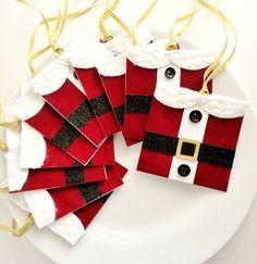 10 Christmas Gift Tags Holiday Gift Tags by InspiredGreetingsAD, $17.50