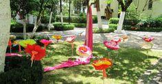 Χαρτινα Κραφτ Λουλουδια για μπομπονιερες βαπτιςη
