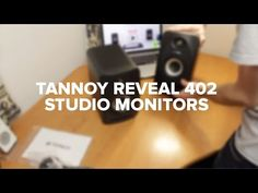 Best Studio Monitors: Top 10 Studio Speakers for 2017 UK Review | |  Buy Now Tannoy Reveal 402  If you are in the market for a good quality speaker, but just do not have the room for a large speaker, then you need to consider the Tannoy Reveal 402. | #Speaker #Studio_Monitor #Bass #UK #Myaudiosounddan | www.myaudiosound.co.uk |