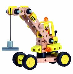 Maxim Wud Workers 60 Piece Magnetic Crane. More at http://suliaszone.com/maxim-wud-workers-60-piece-magnetic-crane/