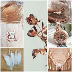 Rose gold Aesthetic