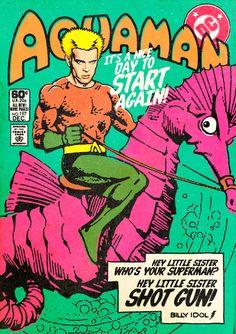 Super-heróis e pós punk by  Butcher Billy.