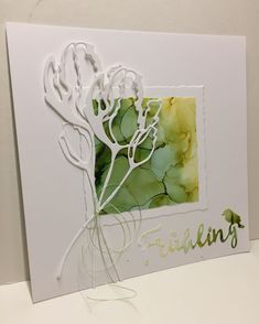 Hand Made Greeting Cards, Making Greeting Cards, Greeting Cards Handmade, Tag Christmas, Alcohol Ink Crafts, Beautiful Handmade Cards, Cards For Friends, Handmade Birthday Cards, Tampons