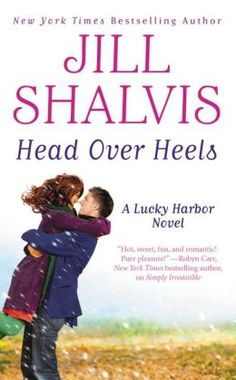 On sale for $1.99 for Nook or Kindle.  Sexy hot Sawyer and the wild Chloe ...  Head Over Heels (Lucky Harbor Series #3)