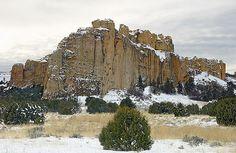El Morro Rock National Monument, New Mexico,USA