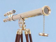 Floor Standing Brass Griffith Astro Telescope 64