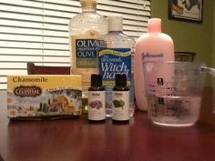 Corban's Chamomile Cure:  Cloth Wipe Solution Made Easy