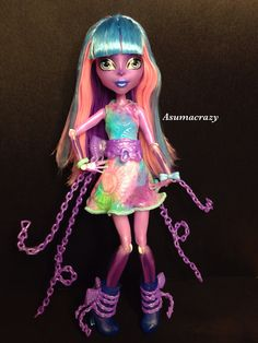 All about Monster High: River Styxx