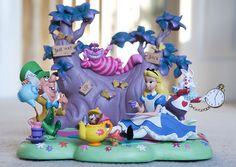Alice In Wonderland Figurines | Alice in Wonderland Figurine Set