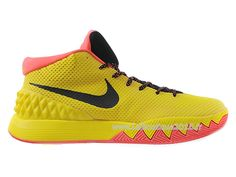 Nike Kyrie 1 Men´s Nike BasketBall 2015 Shoes Black/Yellow 705277-ID1