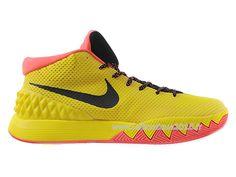 Nike Kyrie 1 Men´s Nike BasketBall 2015 Shoes Black/Yellow 705277-ID1