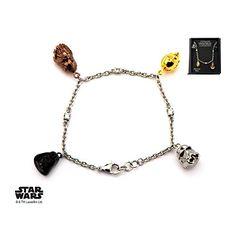 Star Wars 3D Characters Darth Vader, Stormtrooper, Chewbacca and C-3PO Face Charm Tween Bracelet Disney http://www.amazon.com/dp/B01D54J616/ref=cm_sw_r_pi_dp_VPf-wb0WE7171