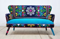 Colorful and fresh patchwork home furniture (10)