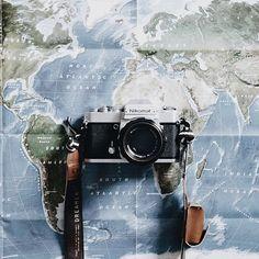 around the world//