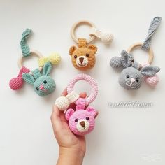 2019 All Best Amigurumi Crochet Patterns - Amigurumi Free Pattern The most admired amigurumi crochet toy models in 2019 are waiting for you in this article. The most beautiful amigurumi toy patterns are all on this site.Baby crochet teethers and paci Amigurumi Free, Amigurumi Tutorial, Amigurumi Toys, Crochet Patterns Amigurumi, Crochet Baby Toys, Crochet Animals, Crochet Dolls, Free Crochet, Crochet Bunny
