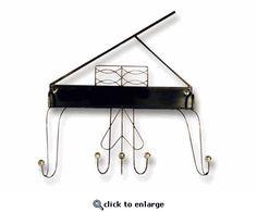 Grand Piano Coat Rack