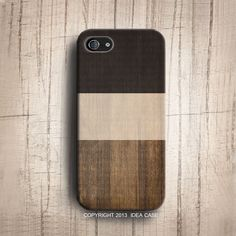 iphone 5S case Color block Print Wood Geometric iphone by IdeaCase, $22.00