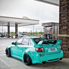 #Subaru #Sti #Modified #Wide_Body #Slammed