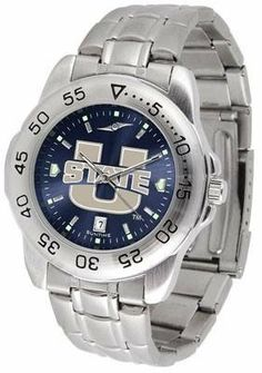 Utah State Aggies NCAA Mens Sport Anochrome Watch SunTime. $63.95. Men. Links Make Watch Adjustable. Stainless Steel-Scratch Resistant Crystal. AnoChrome Dial Enhances Team Logo And Overall Look. Officially Licensed Utah State Aggies Men's Stainless Steel Wristwatch. Save 22%!