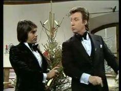 Peter Alexander & Roy Black schmücken den Weihnachtsbaum 1972