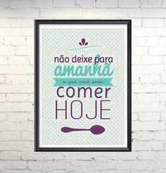 Poster cozinha: