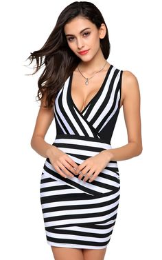 4b439dc7dc8 CINUE Ladies Mini Summer Tank Dress for Work Career Office Party Club p  Dresses