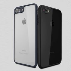Fashion  Soft Silicone Frame Clear Transparent Ultra Thin  Case For iphone 7 Plus 6 6s 6 Plus Case Back Cover Fundas Coque