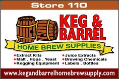 Keg and Barrel Homebrew Supply is located at the Bloom Circle Shopping Center 2 route 73 Berlin NJ 08009.  We take pride in our family owned business 365 days a year. We stock all equipment and ingredients to make your own beer, wine, cider, mead, liquors, and soda from home.  We refill CO2 tanks while you shop!  Be sure to see our parts department too!  Some of our newest hobbies include.. Cheesemaking, a full line of Harvey's Honey, BBQ wood chips and chunks, and Grow your own Mushroom…
