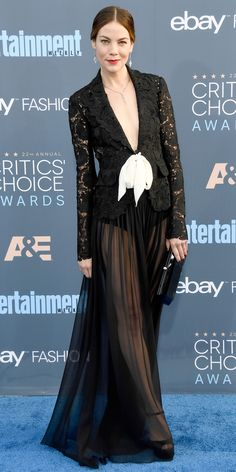 The Sexiest Looks from the 22nd Annual Critics' Choice Awards - Michelle Monaghan from InStyle.com