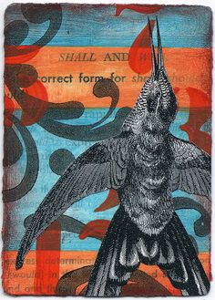 ACEO- Shall and Will by jodie hurt, via Flickr