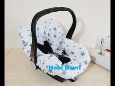 DIY, Baby Car Seat Sheet, Lastikli Puset Çarşafı Dikimi - YouTube Balkon Design, Baby Supplies, Baby Carriage, All Modern, Baby Car Seats, Children, Youtube, Furniture, Diy Baby