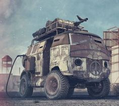 Mad Max's T1 Bus | Machines - Concept Vehicles | Pinterest More about Mad Max here.