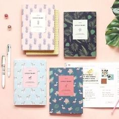 2016-Iconic-Lively-Diary-Scheduler-Journey-Monthly-Journal-Korean-Planner-DATED
