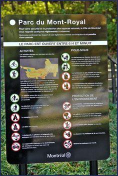 Parc Mont-Royal Montréal. The Mont Royal park a green lung of the city. Photo:T.Graffe