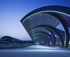 Dubai International Airport Terminal 3 designed by Aéroports de Paris International: