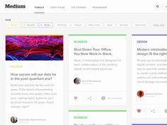 Medium Grid App Concept
