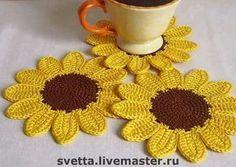Watch The Video Splendid Crochet a Puff Flower Ideas. Wonderful Crochet a Puff Flower Ideas. Crochet Motifs, Crochet Potholders, Crochet Flower Patterns, Crochet Squares, Crochet Doilies, Crochet Flowers, Crochet Coaster, Crochet Ideas, Crochet Home