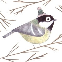 Christine Pym's woodland critter illustrations are the best! So cute!